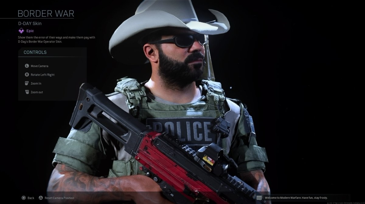Modern Warfare Changes Skin For Pro-Police Controversy 2