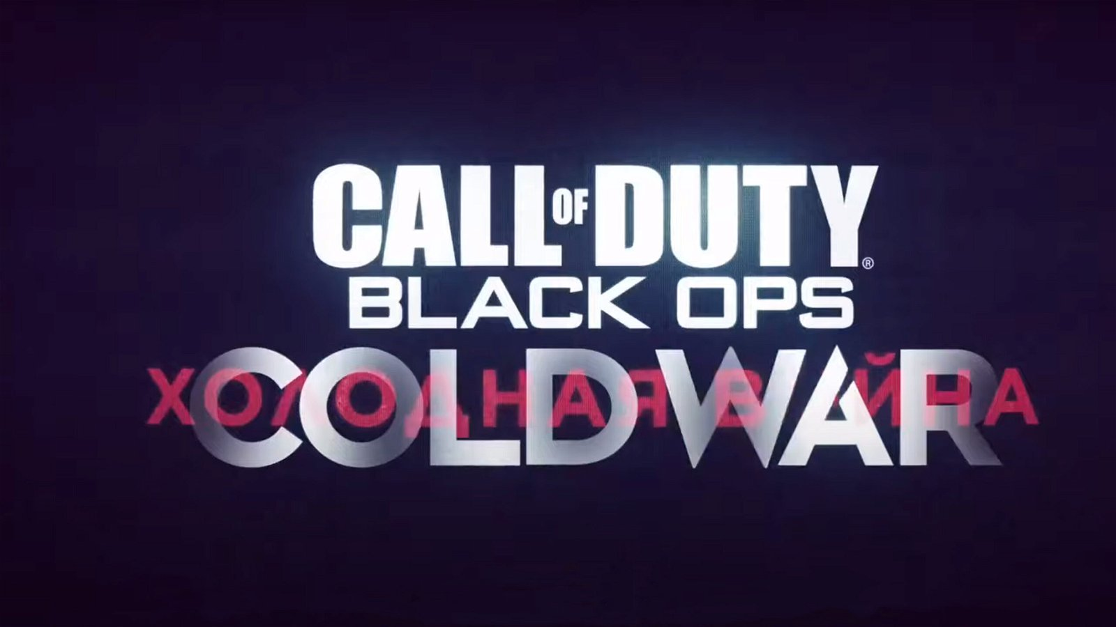 Call of Duty Black Ops: Cold War Officially Revealed in Trailer