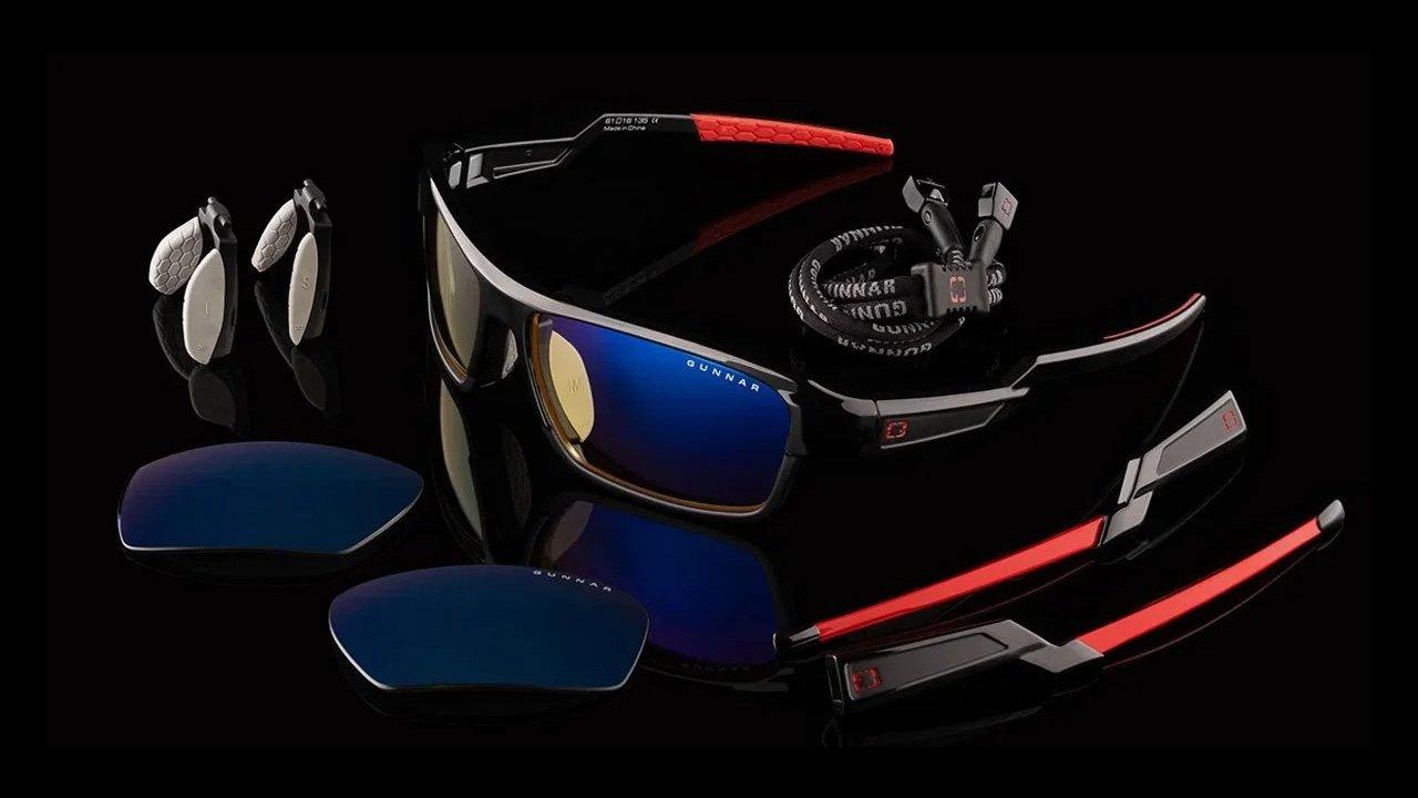 GUNNAR Optiks Unveil Lightning Bolt 360 Gaming Glasses
