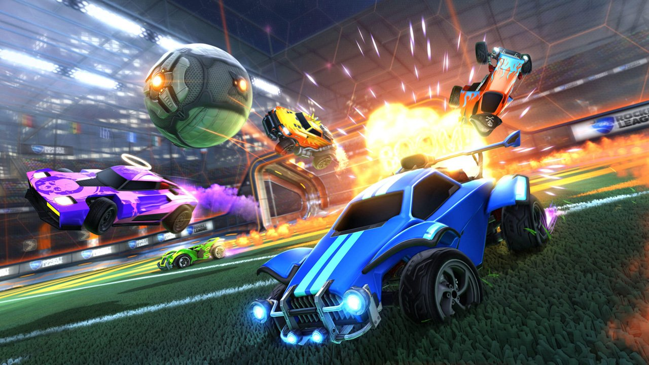 Rocket League Now Free-To-Play on All Platforms