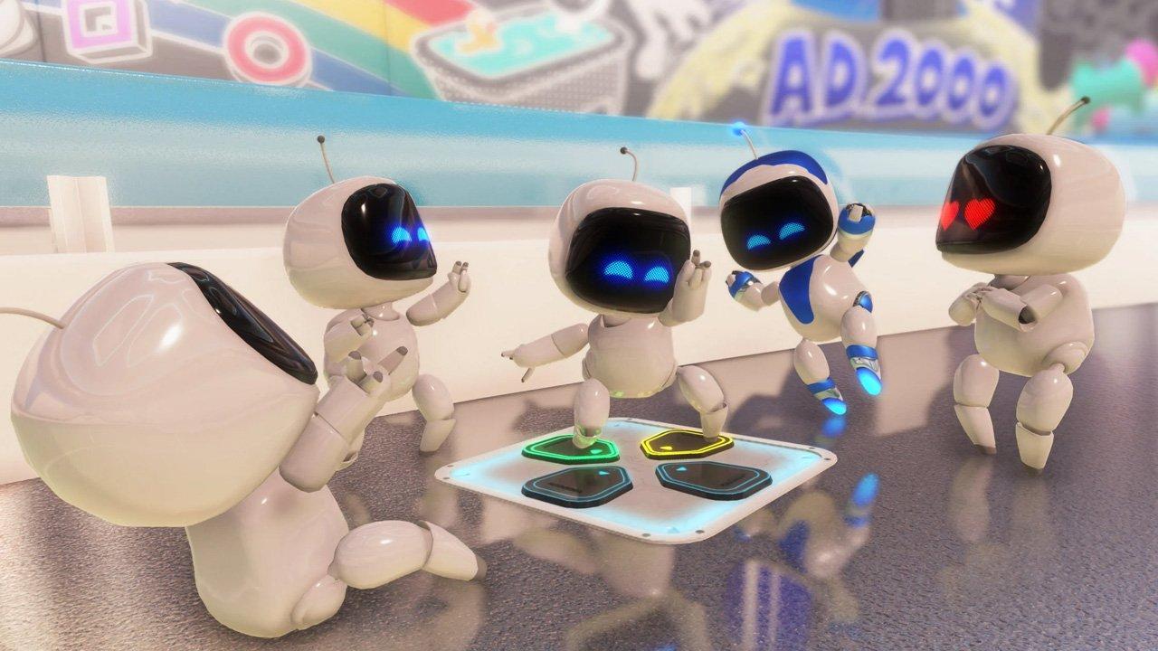 Astro's Playroom Highlights PS5's DualSense
