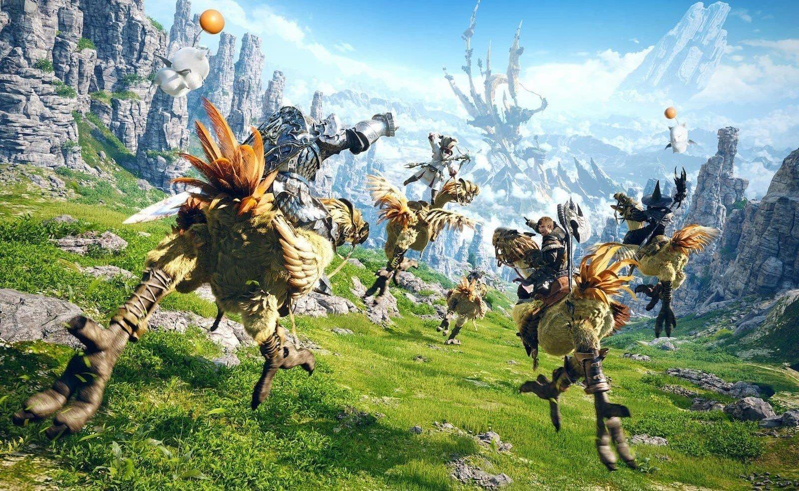 Final Fantasy XIV Confirmed for PS5 Backward Compatibility