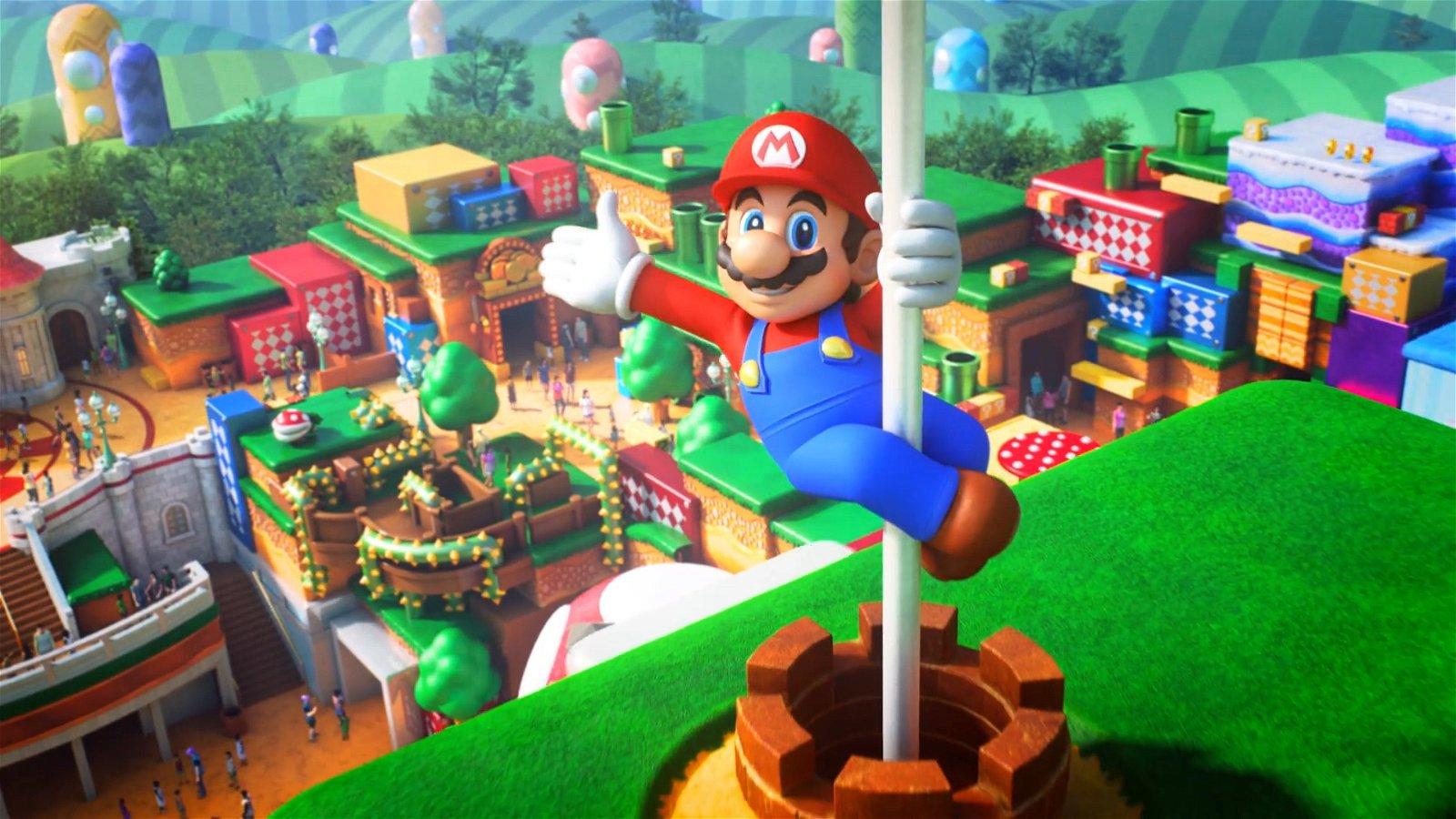 Take the Warp Pipe to Super Nintendo World February 4