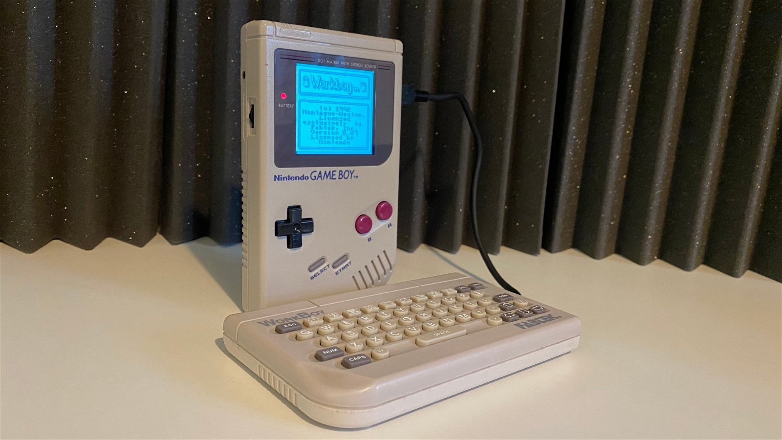 Work Boy Add-On for Game Boy Resurfaces 28 Years Later 2