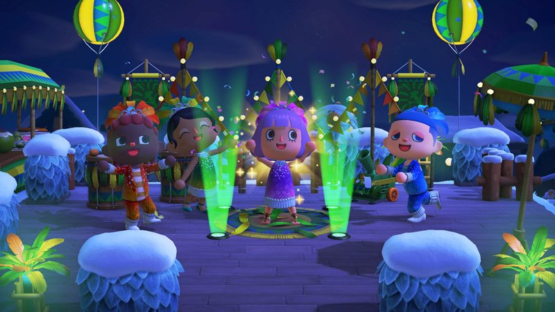 Animal Crossing New Horizons Will Help Heat Up The Winter With The Festivale Event, February 15.