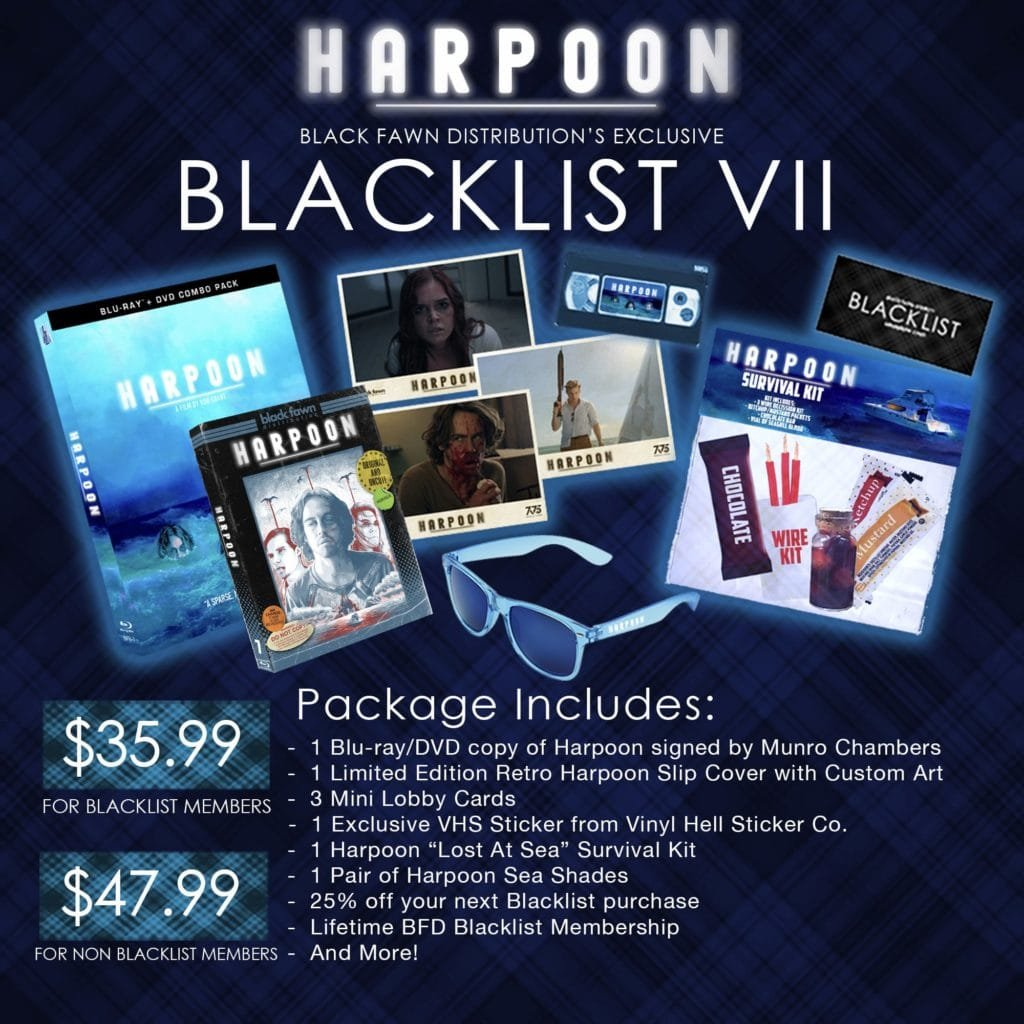 Black Fawn Brings 'Harpoon' Home With Limited Edition Slipcase