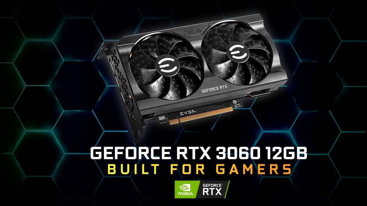EVGA Announces its GeForce RTX 3060 Series 2