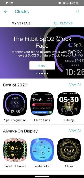 Fitbit Versa 3 Smartwatch Review 9