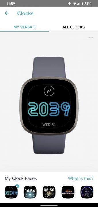 Fitbit Versa 3 Smartwatch Review 8