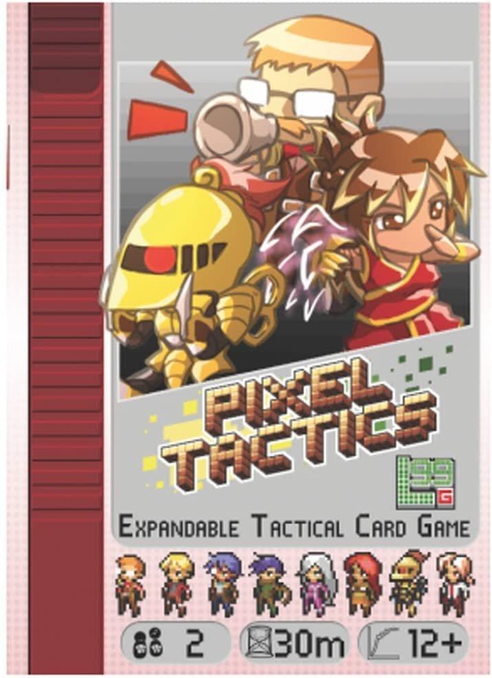 Pixel Tactics Legends Tabletop Review 1