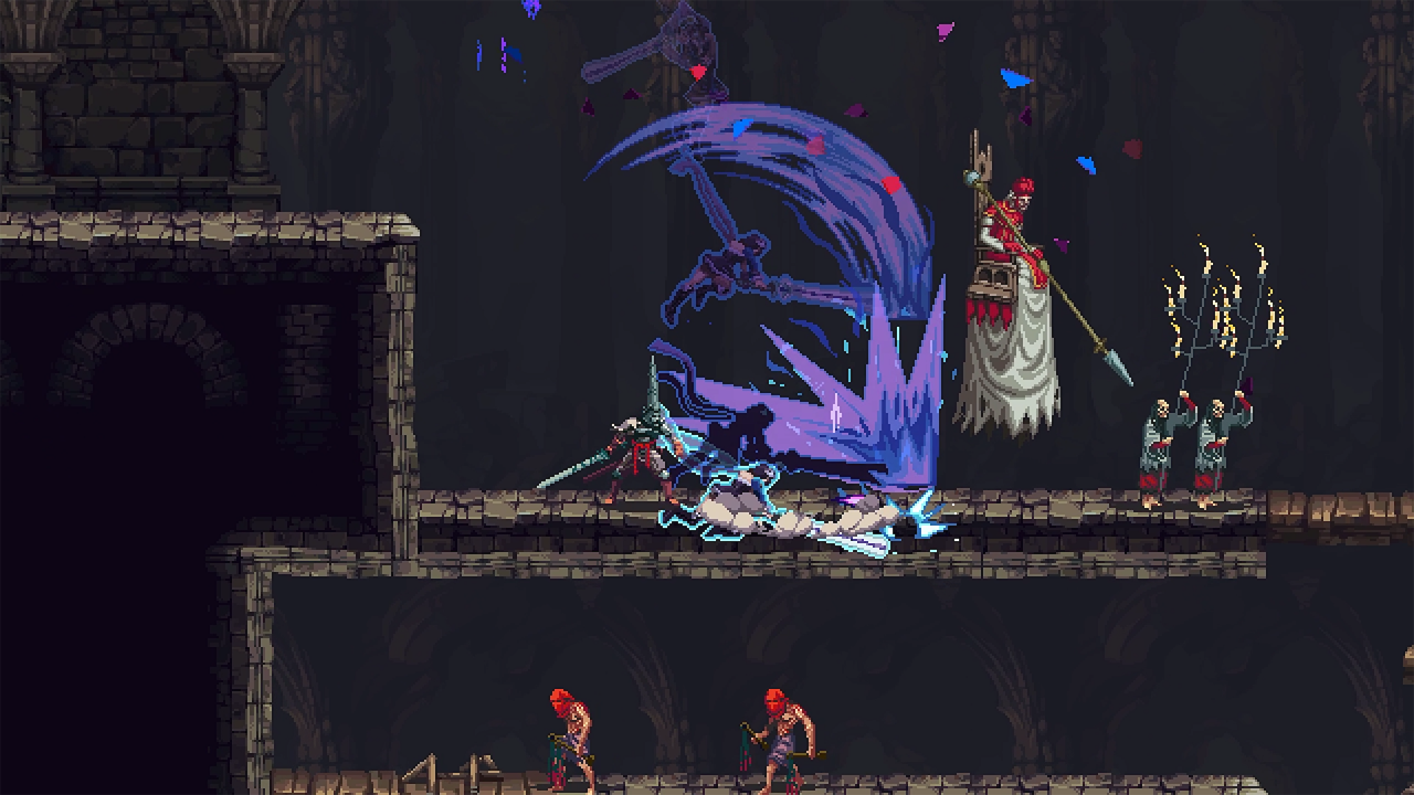 Bloodstained Heroine Miriam Needs Blasphemous' Penitent One To Help Get Back To Her Home World.
