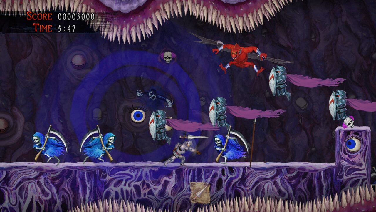 Ghosts N' Goblins Resurrection Review