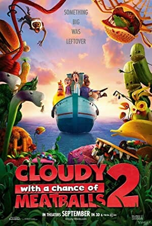 Cloudy With A Chance Of Meatballs 2 (2013) Review 3