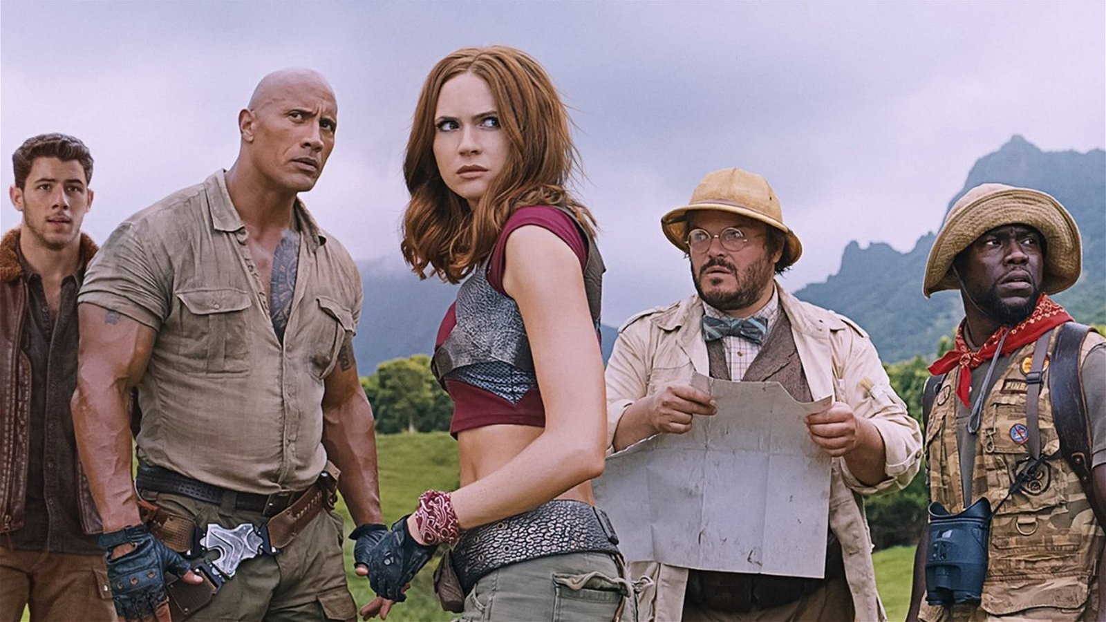Jumanji: Welcome To The Jungle (2017) Review