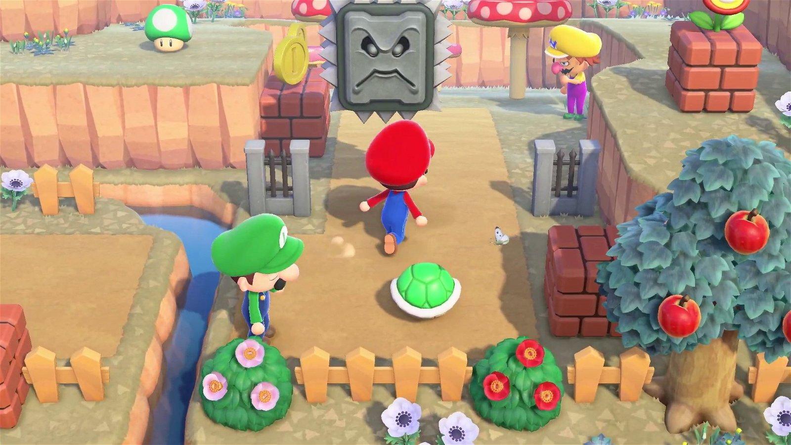 Super Mario Making its way to Animal Crossing: New Horizons