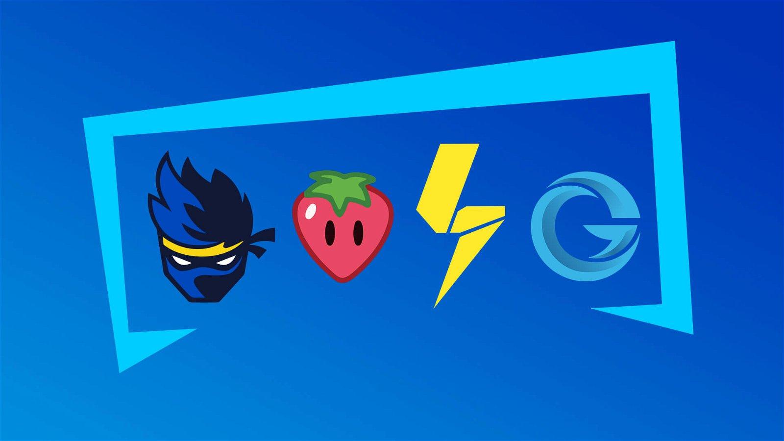 Fortnite Icon Series Logos