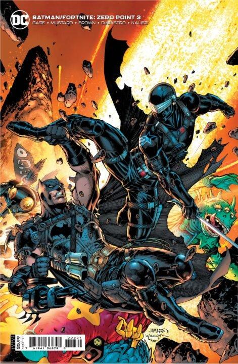 Dc Releases Batman/Fortnite: Zero Point Variant Covers