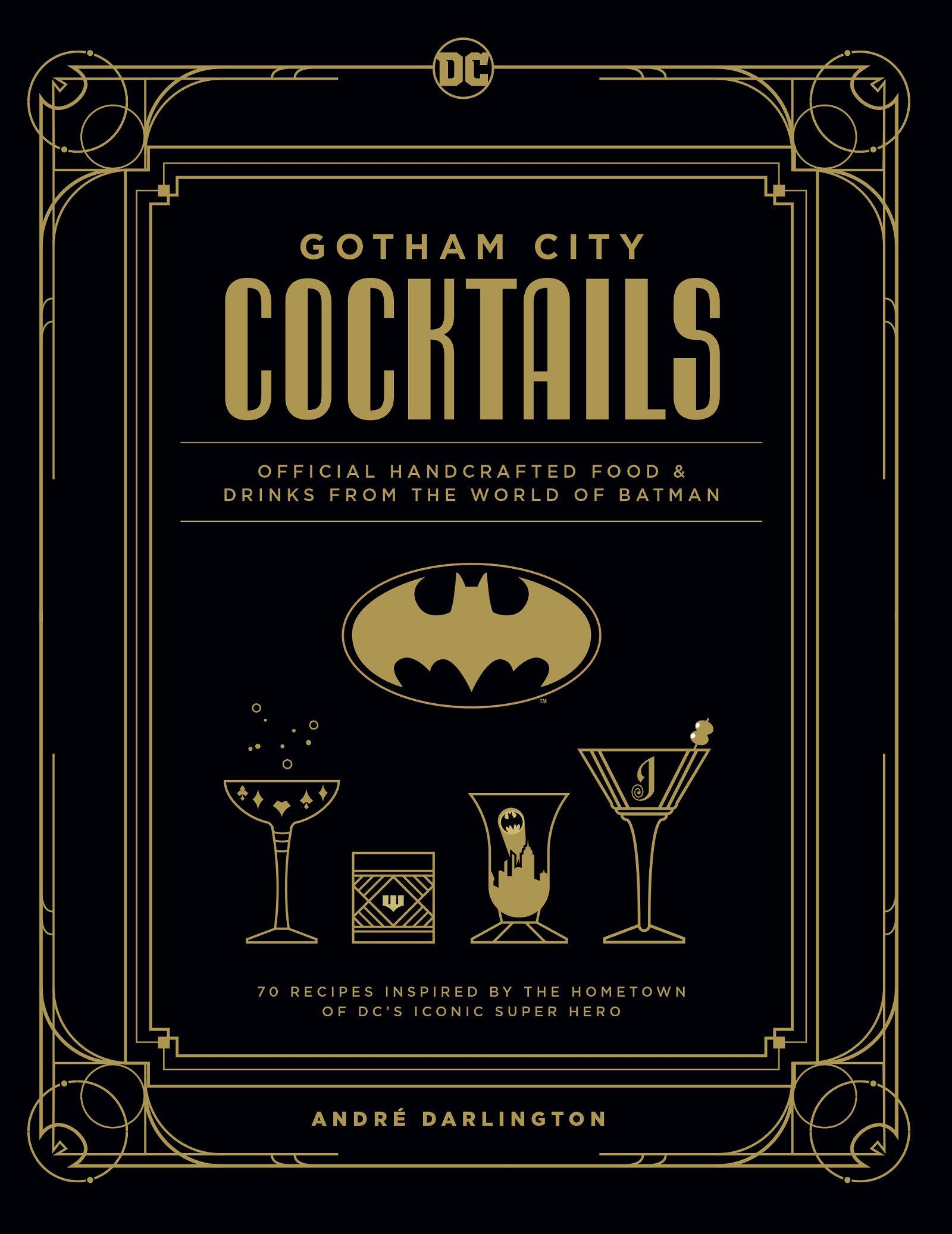 Gotham City Cocktails, Coverart
