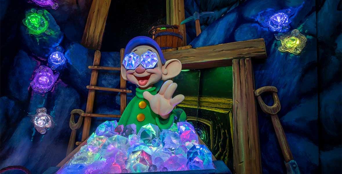 Disneyland New Enchanted Wish Ride