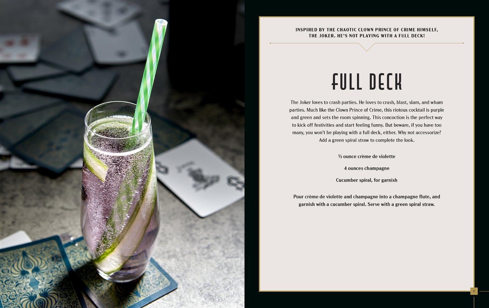 Gotham City Cocktails, Full Deck
