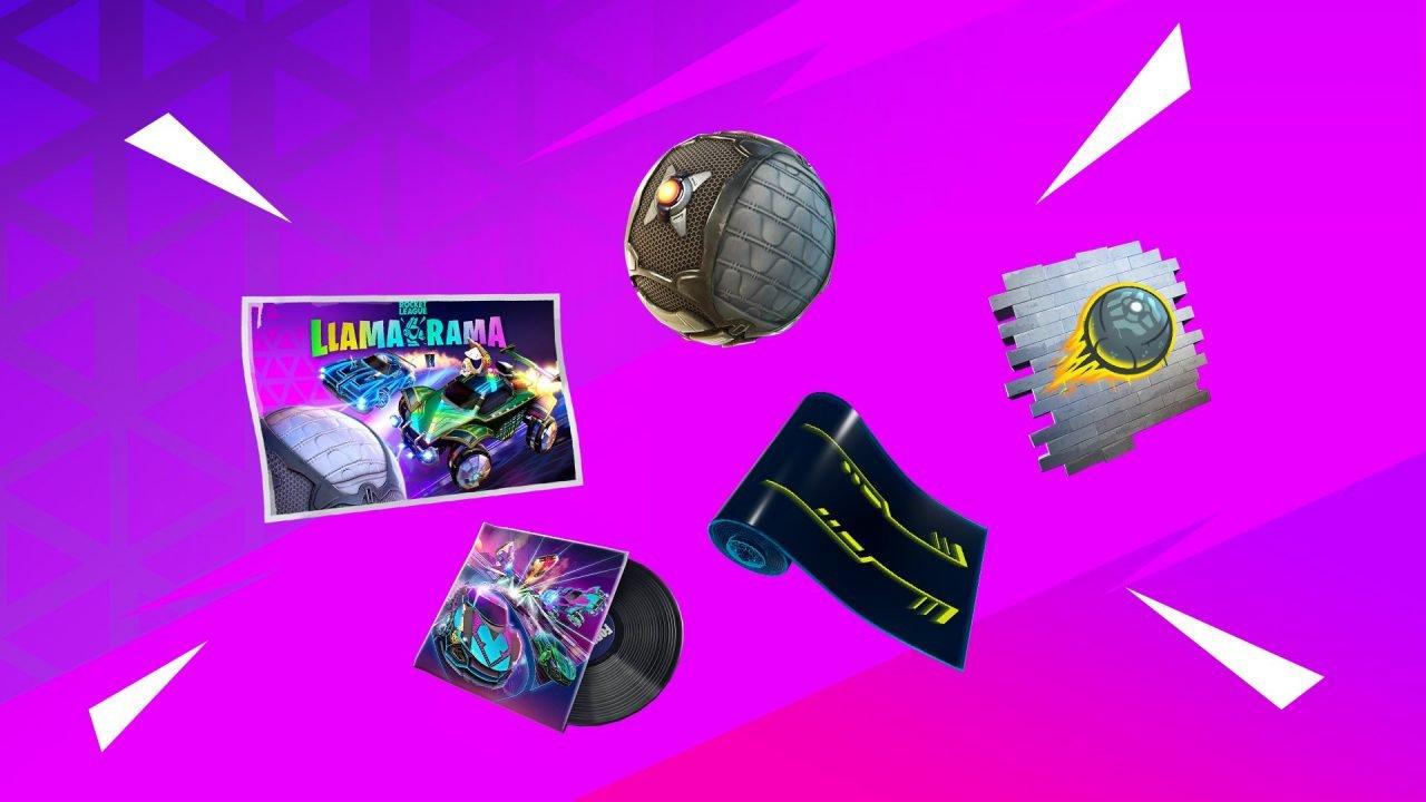 Fortnite Rewards From Rocket League