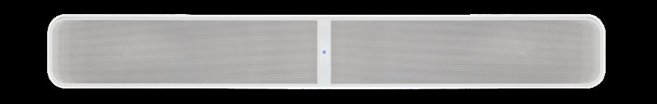 Pulse Soundbar+ In White, Front
