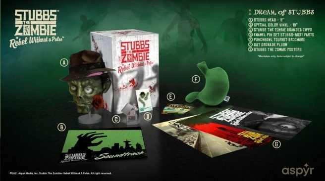 Xbox Stubs The Zombie Collectors Edition