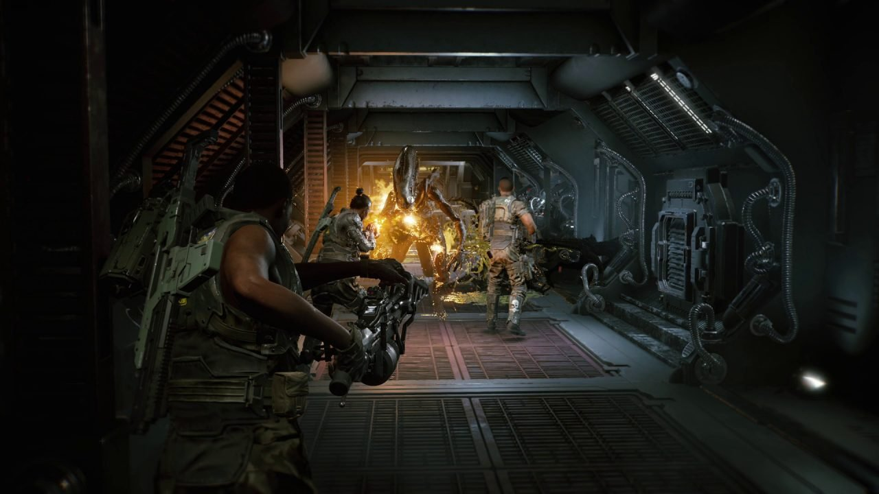 Squads Of Space Marines Will Have To Coordinate To Survive Waves Of Enemies In Aliens: Fireteam.