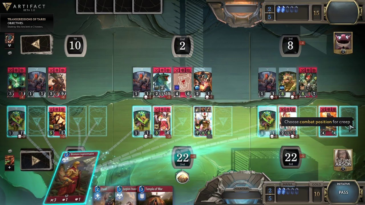 Artifact 2.0 Cancelled After Lack Of Players 2
