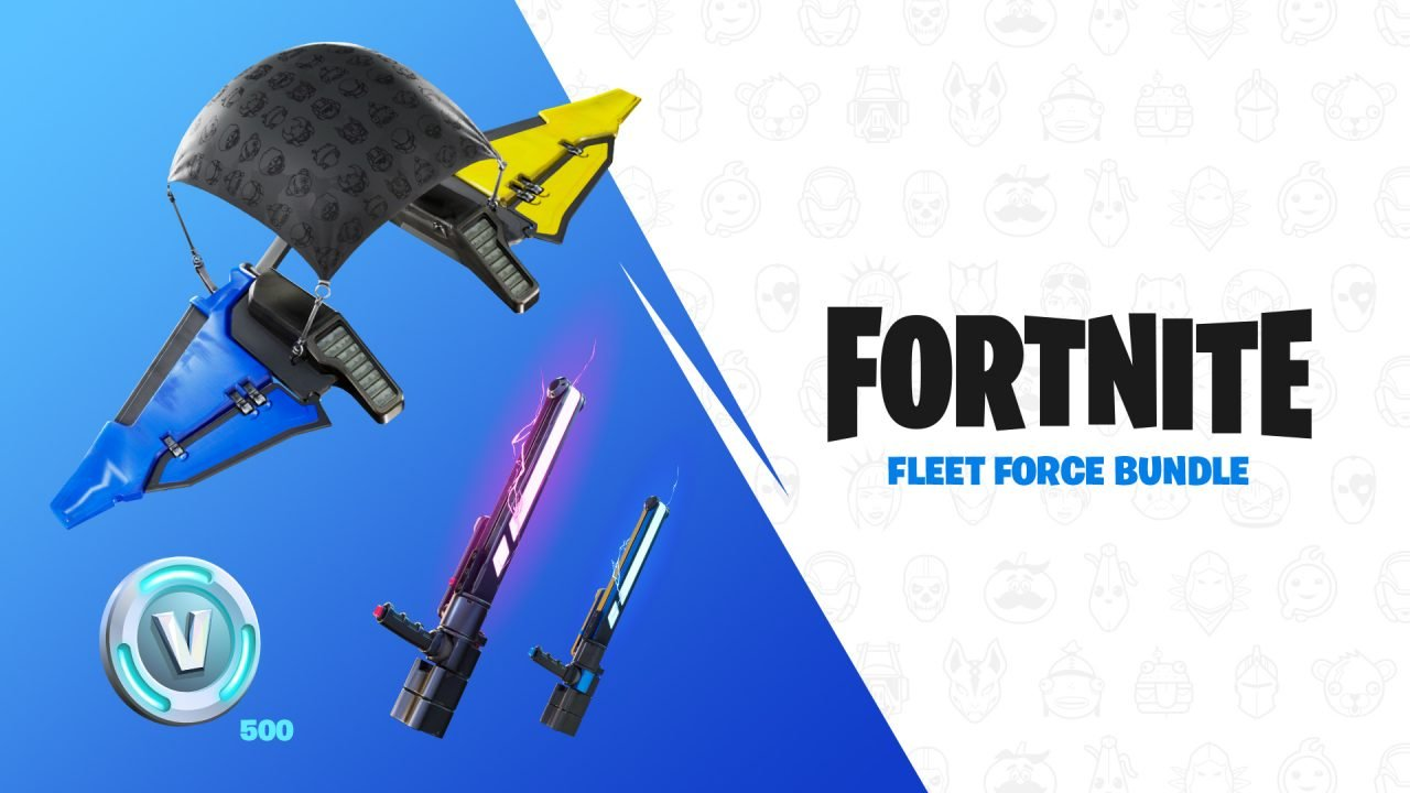 The Fortnite Fleet Force Bundle Will Include Special Themed Joy-Cons, V-Bucks, And Unique Cosmetics.