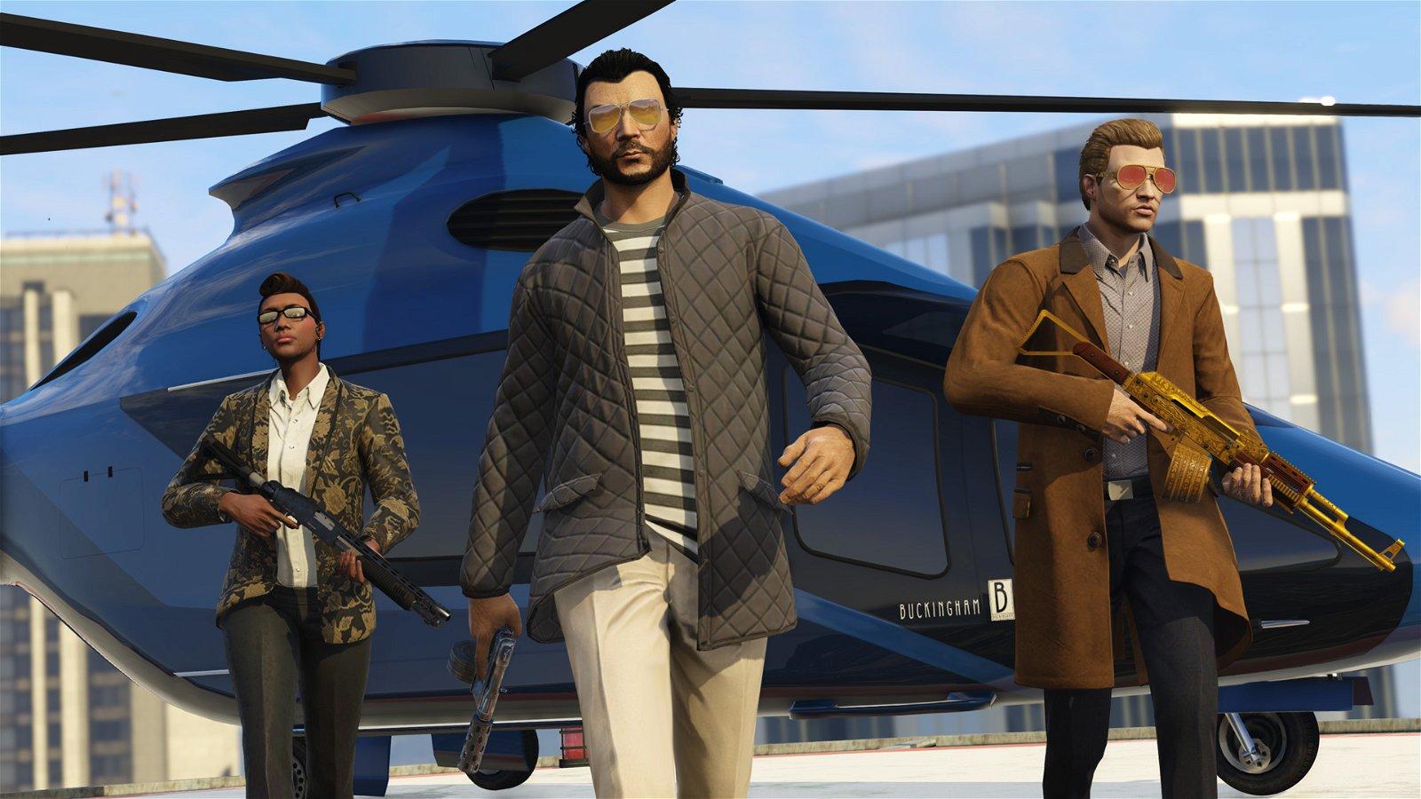 GTA Online Player One-ups Rockstar 1