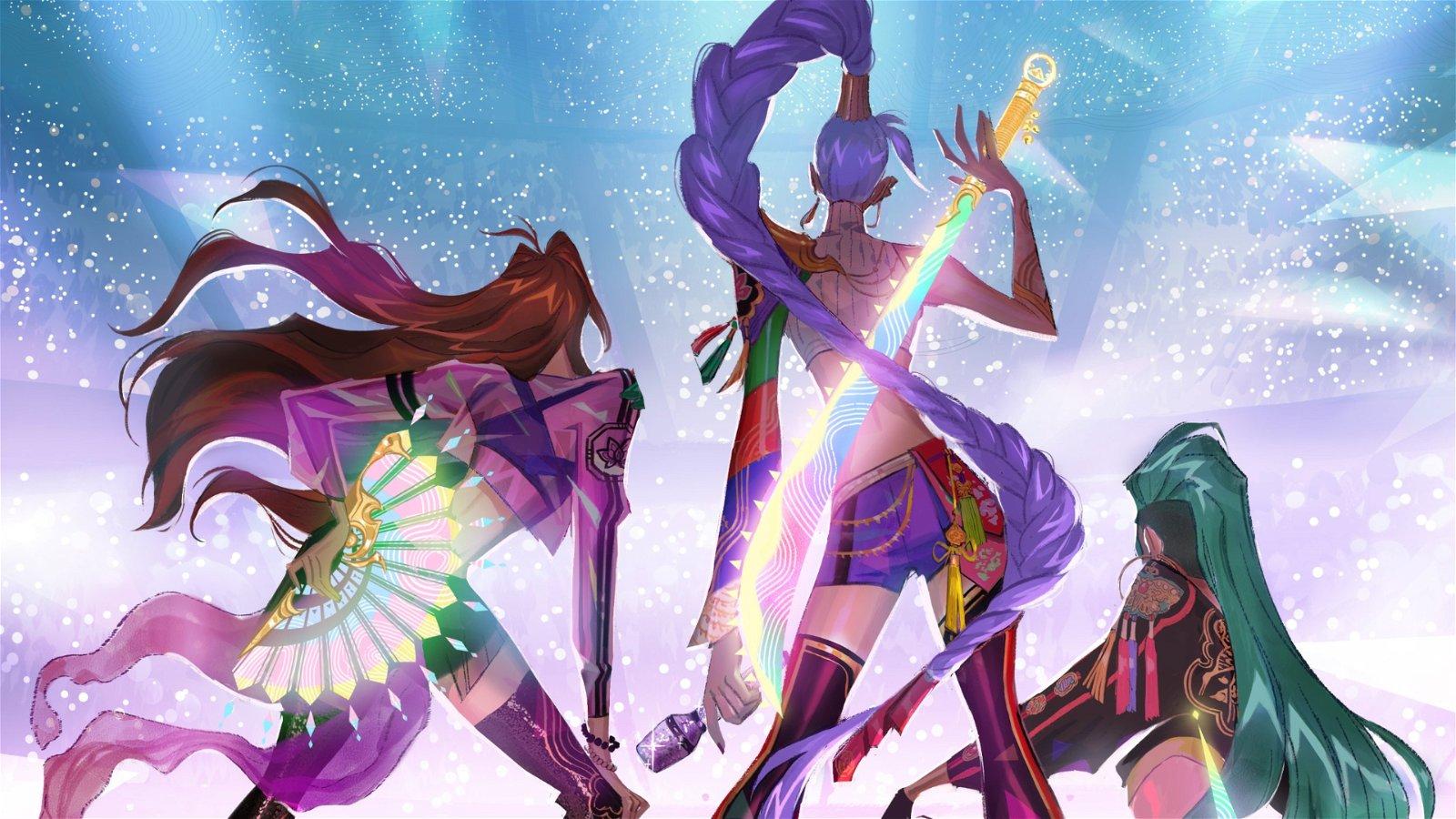 K-Pop: Demon Hunters Musical In Development At Sony Animation
