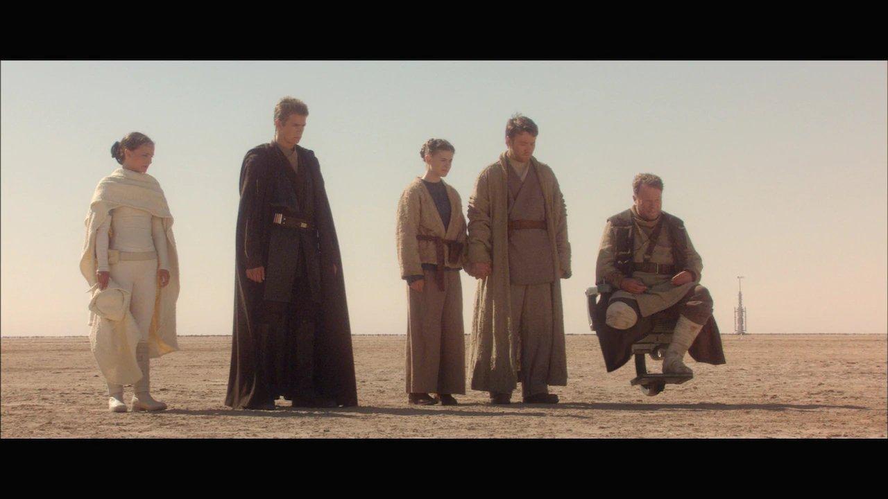 Bonnie Piesse And Joel Edgerton (Center) Will Reprise Their Roles As Beru And Owen Lars For Obi-Wan Kenobi.