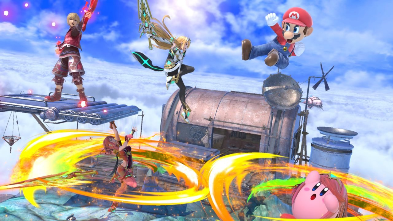 Pyra And Mythra Are The Latest Fighters To Join The Fray In Super Smash Bros Ultimate.