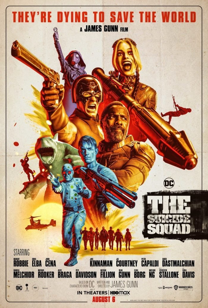 The Suicide Squad'S Official Poster