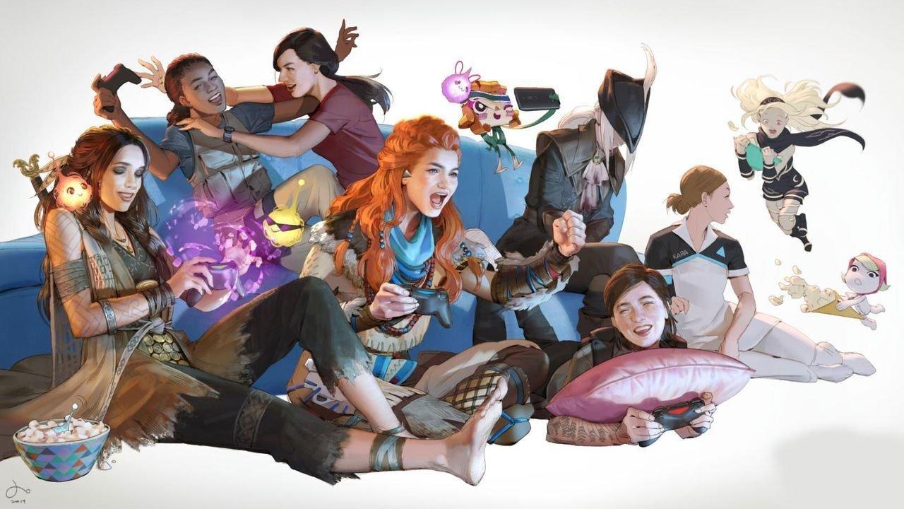 To Women in Gaming on International Women's Day 1