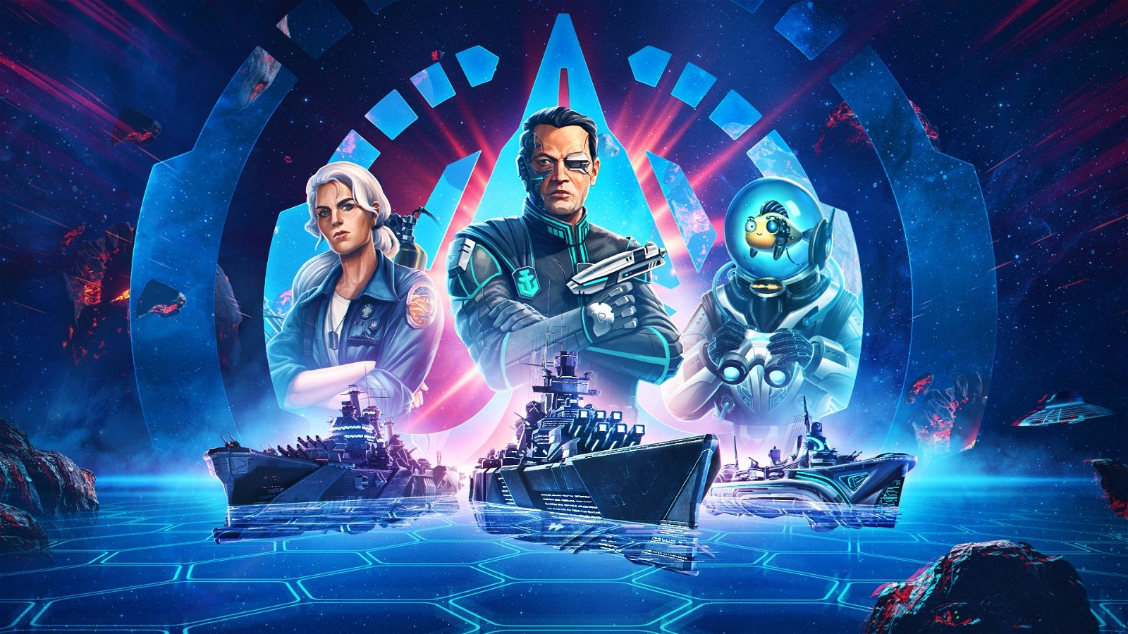 World of Warships Takes the Fight To Space for April Fool's Event