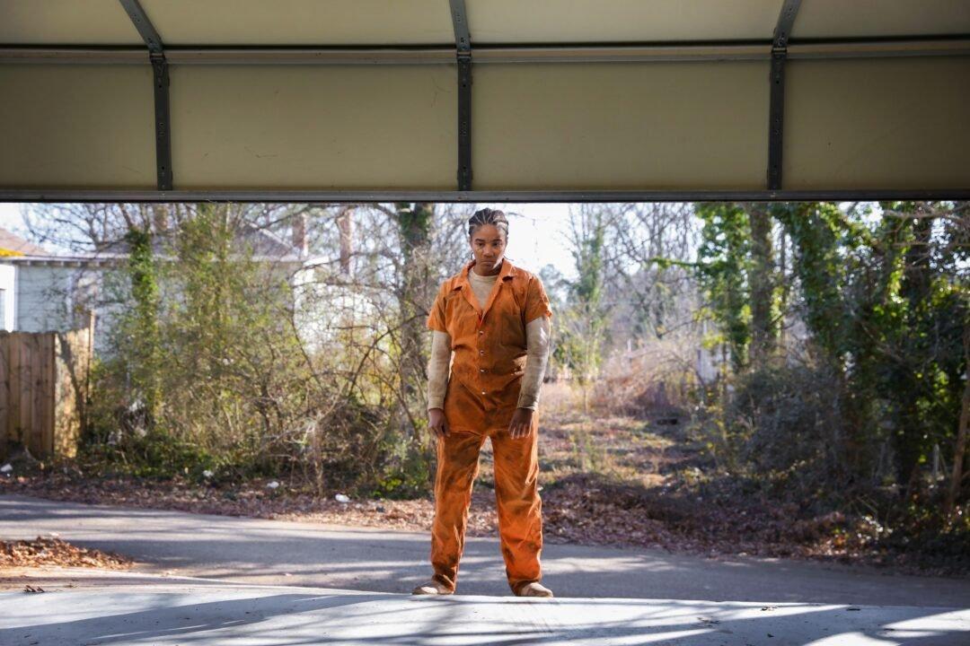 Tiffany Haddish Stars As Escaped Convict Trina In &Quot;Bad Trip.&Quot; (Dimitry Elyashkevich/Netflix)