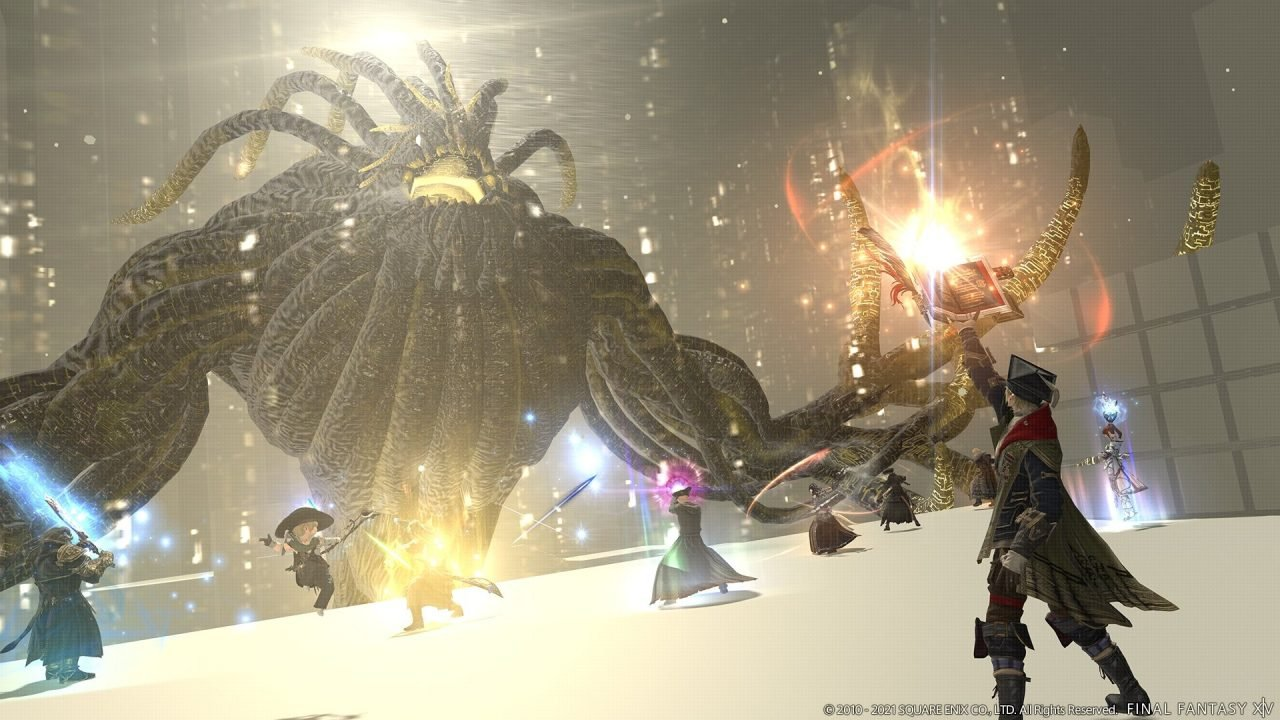 Final Fantasy Xiv'S Newest Patch Adds The Third And Final Alliance Raid In The Yorha: Dark Apocalypse Series.