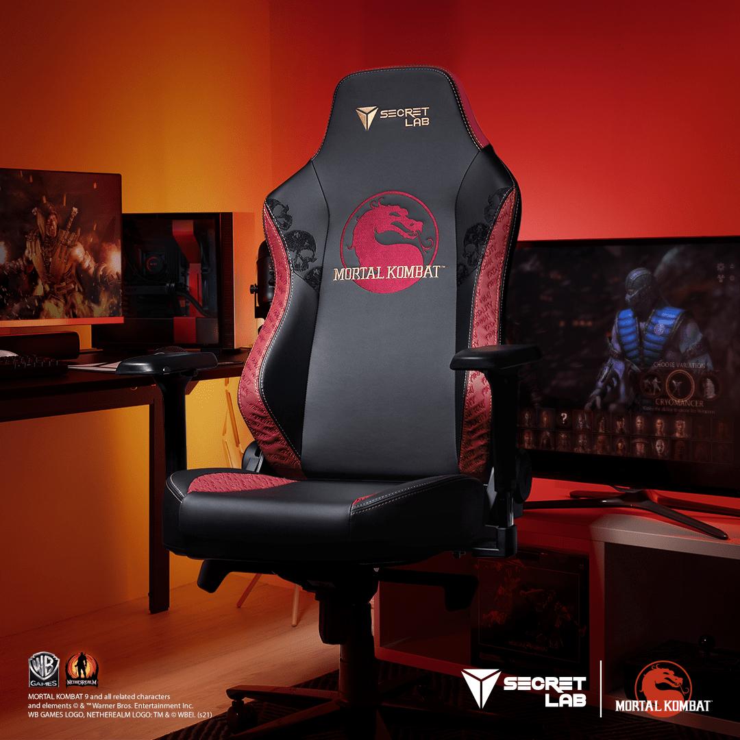 Secretlab Mortal Kombat Edition Chair.