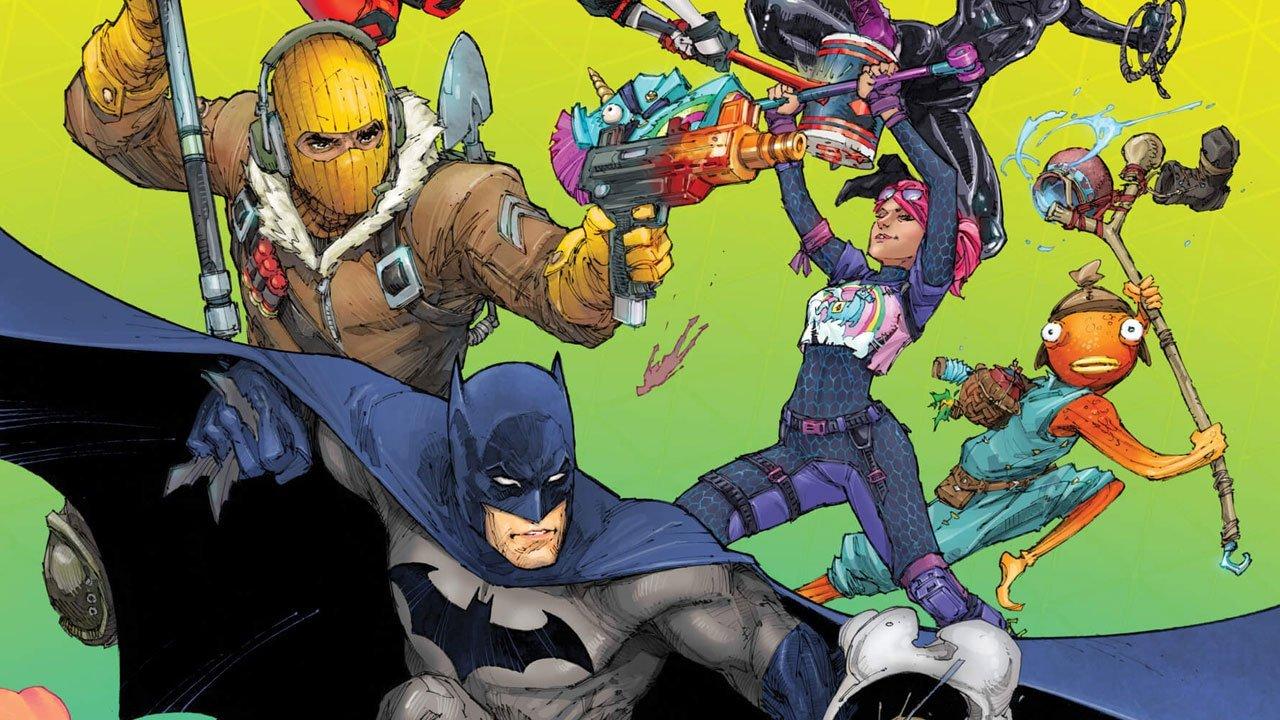 Batman/Fortnite: Zero Point #1 1