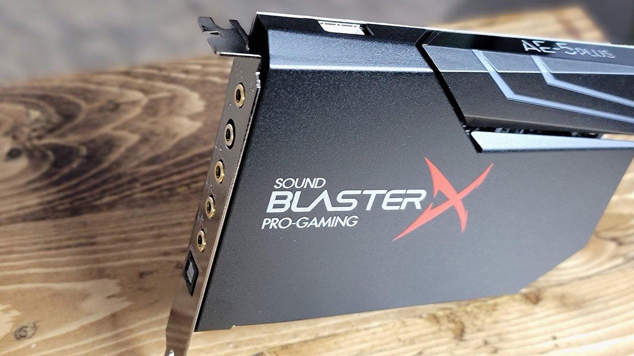 Creative Sound Blasterx Ae-5 Plus Review 1