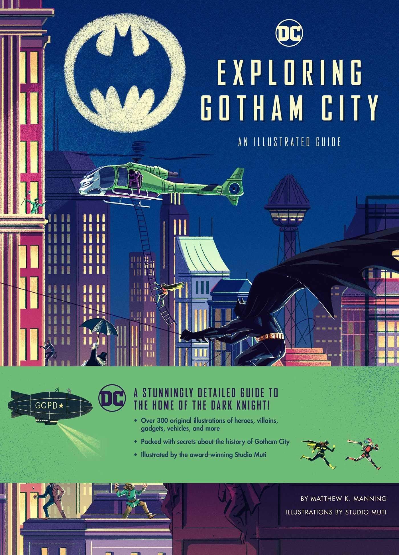 Exploring Gotham City Book Review