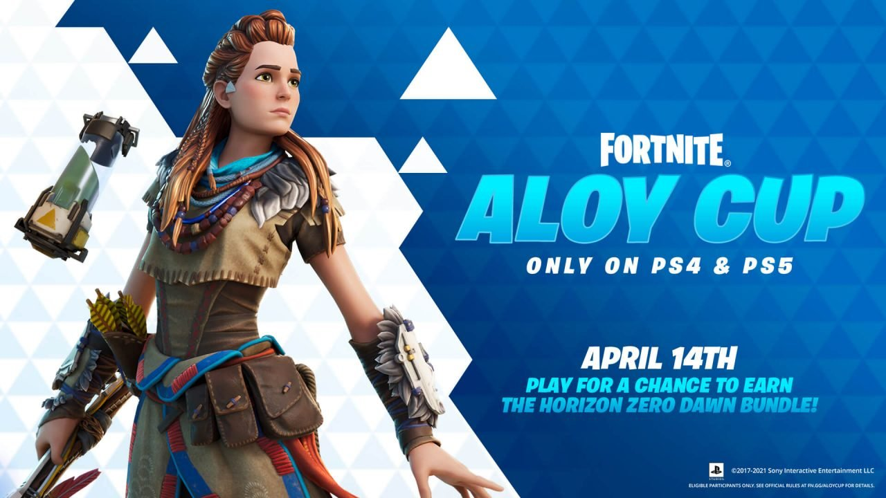 Fortnite &Amp; Horizon Zero Dawn Team Up For The Aloy Cup
