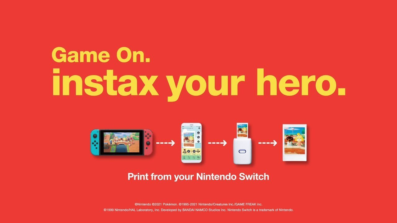 Fujifilm Will Enable Switch Owners To Print Their Screenshots With Their Instax Mini Link Printers, Using A New App.