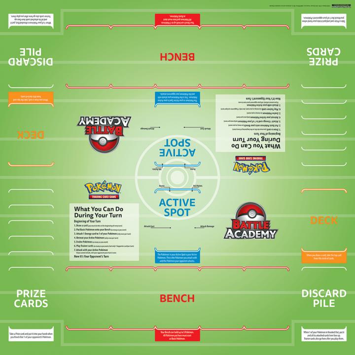 Pokémon Trading Card Game - Battle Academy Board