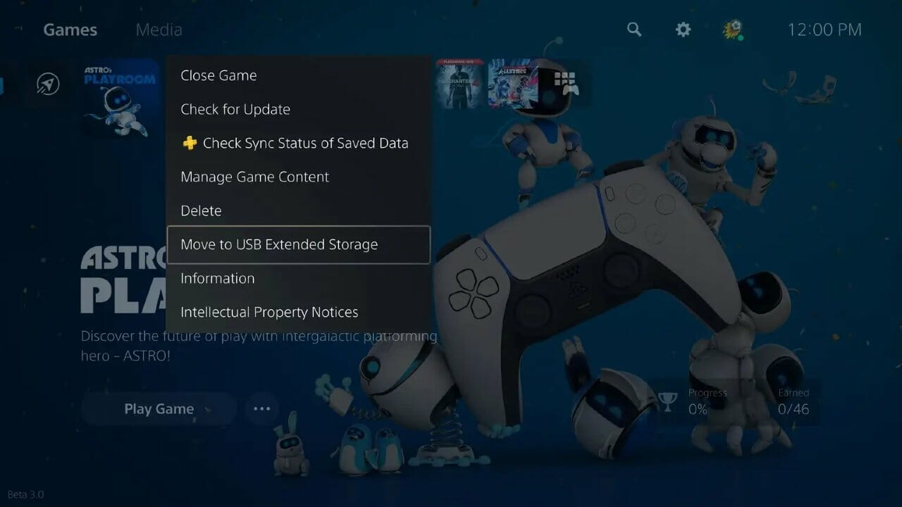 The Playstation 5'S First Update Will Add The Ability To Offload Games To Usb Storage, Allowing Players To Restore Them Faster Down The Line.