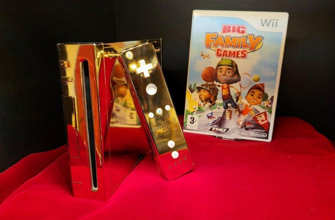 Queen Elizabeth'S 24 Karat Gold Wii Is Up For Sale