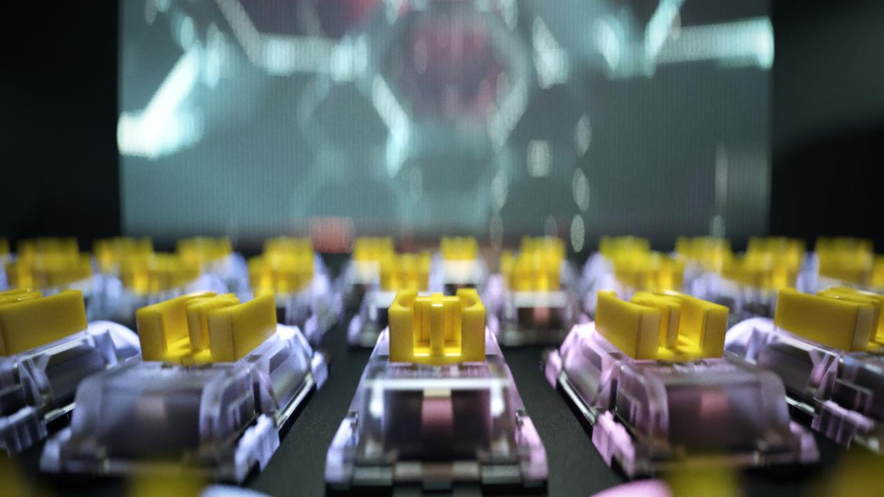 Razer Yellow Mechanical Switches