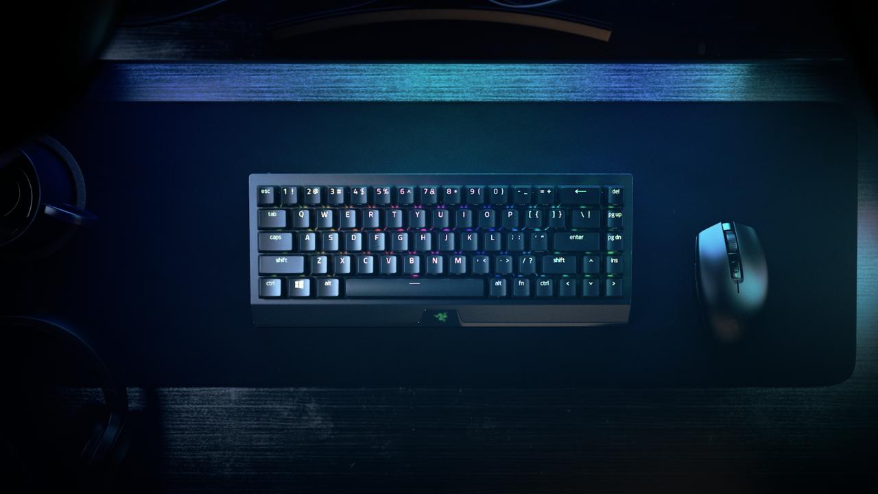 Razer Blackwidow V3 Mini Hyperspeed Keyboard &Amp; Razer Orochi V2
